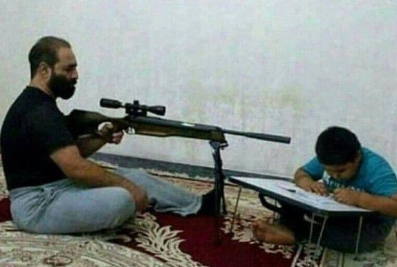 Похоже эти родители уже перегибают палку