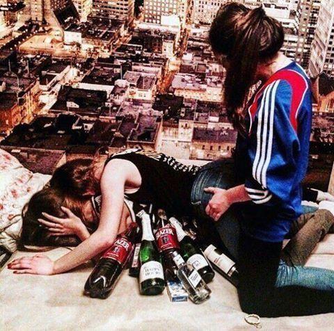 Великий и ужасный женский алкоголизм, который разъедает мозг