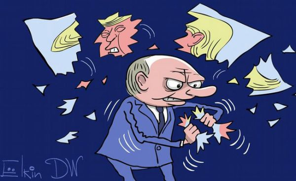 Карикатуры о Путине и санкциях