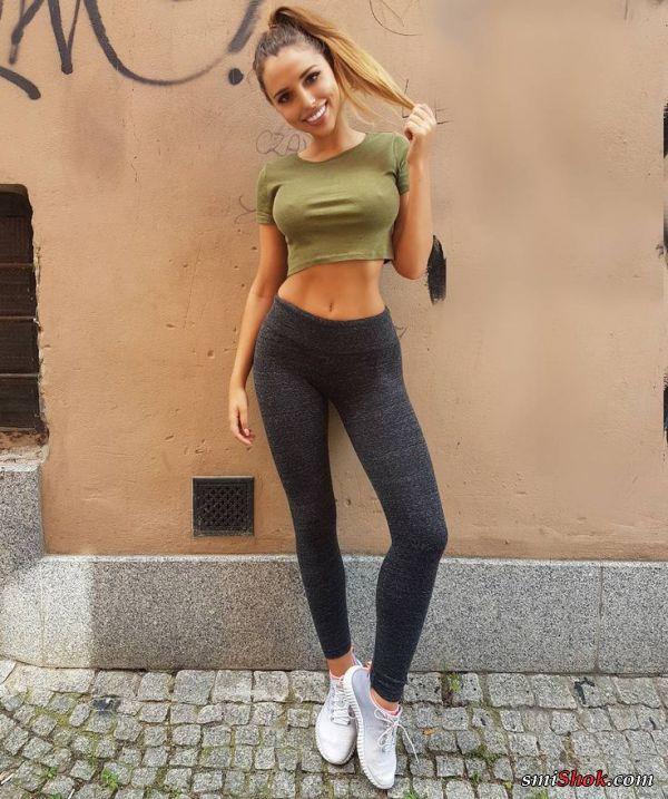 Польская фитоняшка Вероника Белик