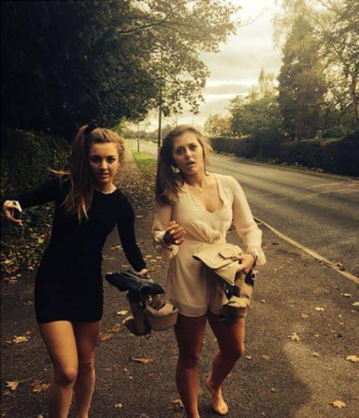 Постыдное возвращение девушек с вечеринок (29 фото)