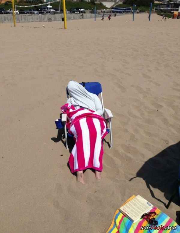 Пляжные наряды людей, которые заставят вас хохотать