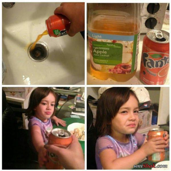Смешные ситуаций, когда родители ставят детей на место!