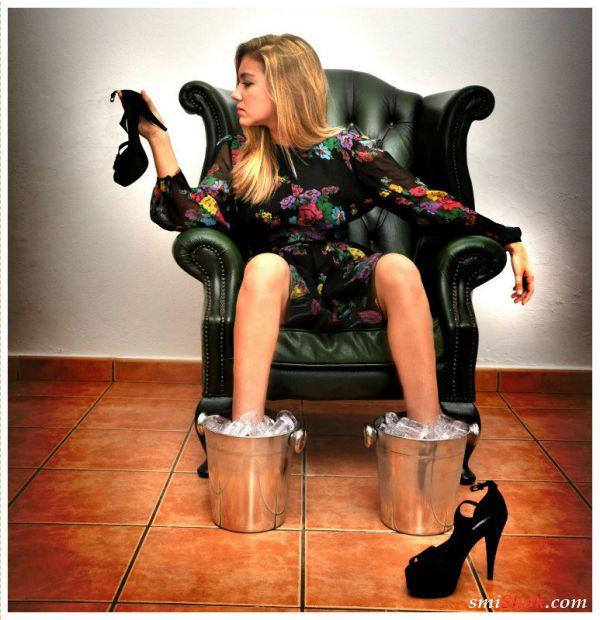 Девушки на каблуках могут все
