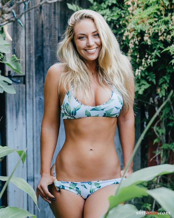 Сидней Малер блондинка из Сан-Диего