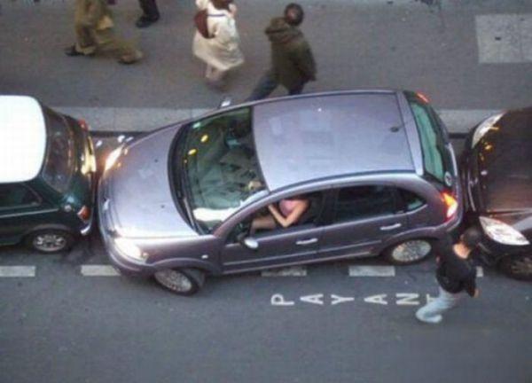 Когда за руль садится женщина (28 фото)