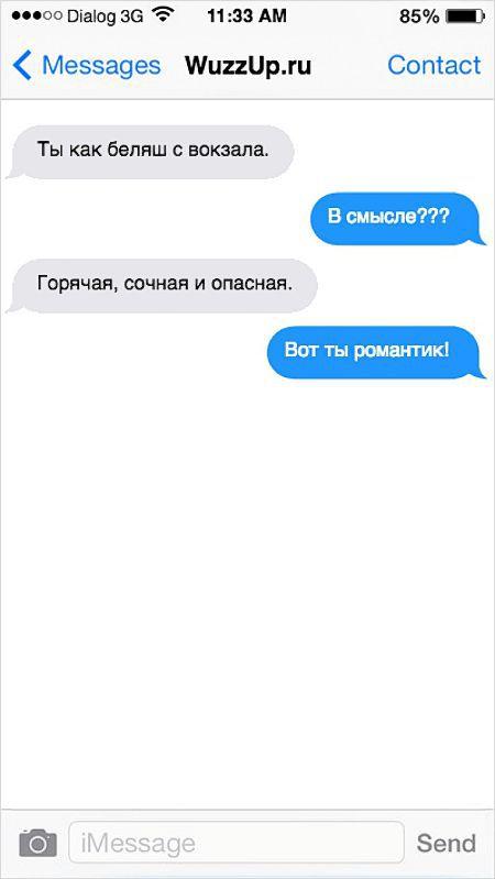 Смешные СМС от настоящих юмористов переписки (20 фото)
