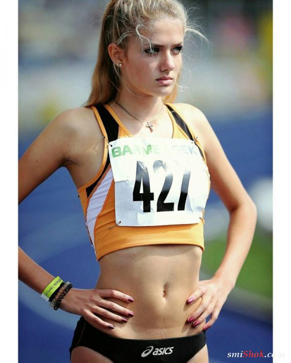Алисия Шмидт бегунья из Германии