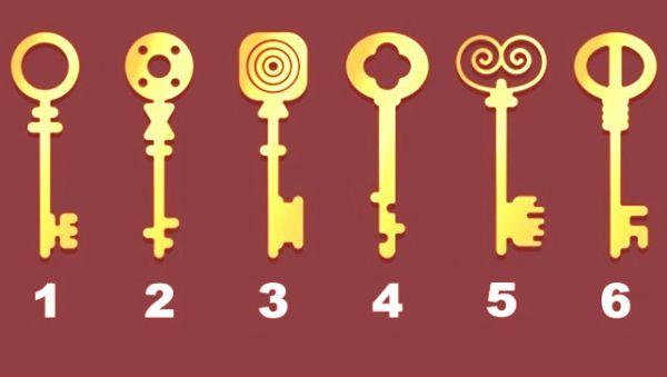 Тест: Подбери для себя ключ и узнай свой тип личности