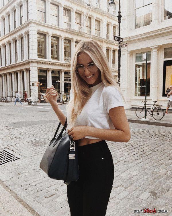 Сенди Скопляк девушка из Instagram (13 фото)