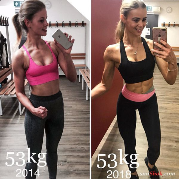 12 женщин, которые похудели, но при этом не потеряли ни одного килограмма