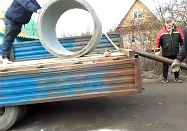 Профессиональные грузчики