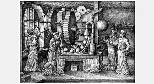 Как изобретали вечный двигатель