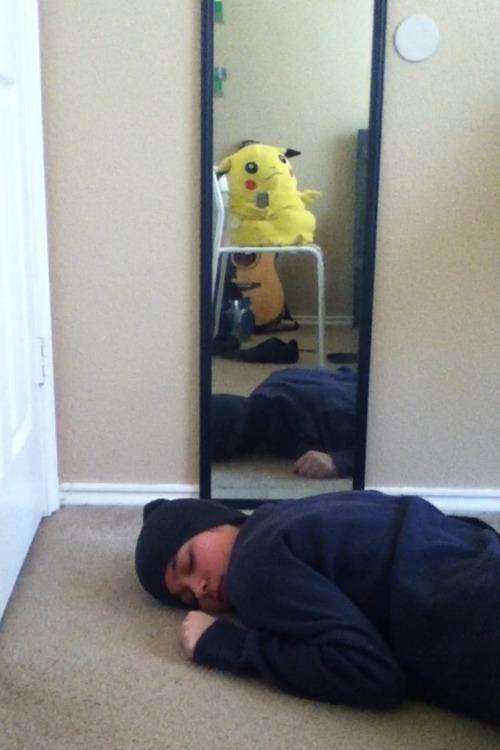 Пока ты спал, или когда приходится фотографировать самого себя