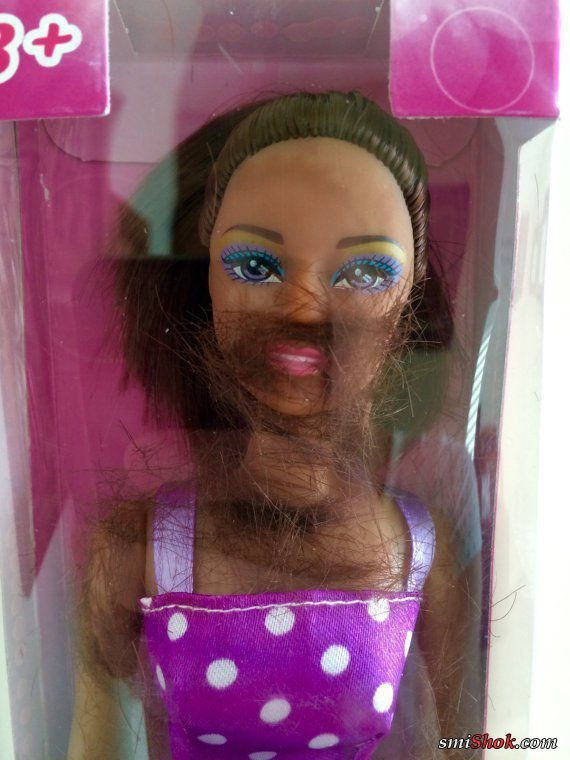 Кукла барби уже не та