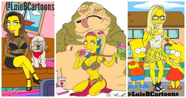 """Стать героем вселенной """"Симпсонов"""" может каждый"""