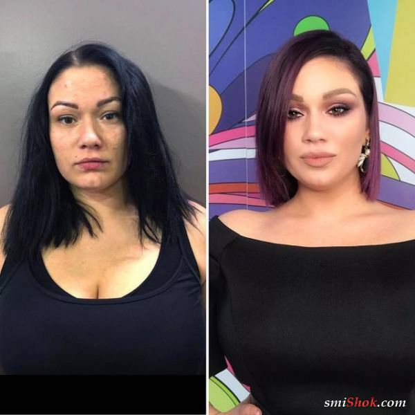 """Современный макияж творит чудеса: """"До и после"""" (23 фото)"""