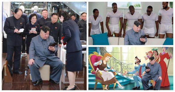 Для того чтобы стать героем фотожаб и мемов Ким Чен Ыну не пришлось делать ничего особенного